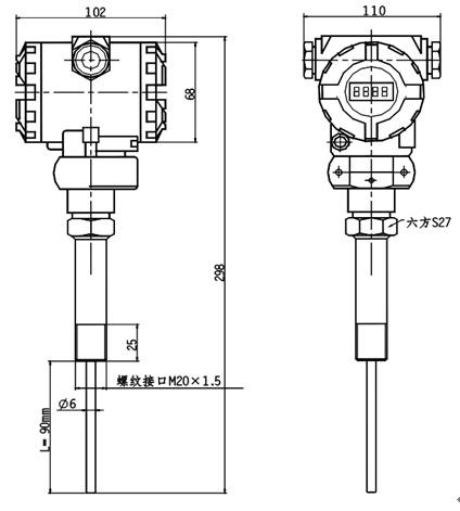 液位 pt2262电路图